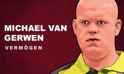 Michael van Gerwen Vermögen und Einkommen