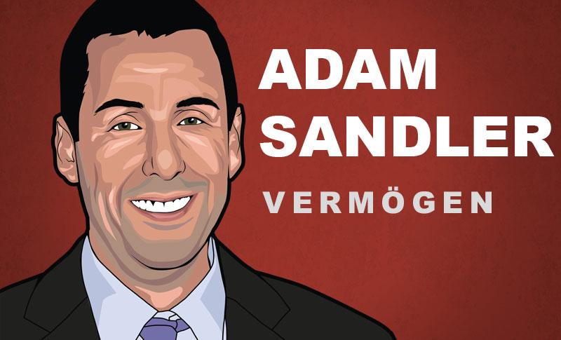 Adam Sandler Vermögen und Einkommen