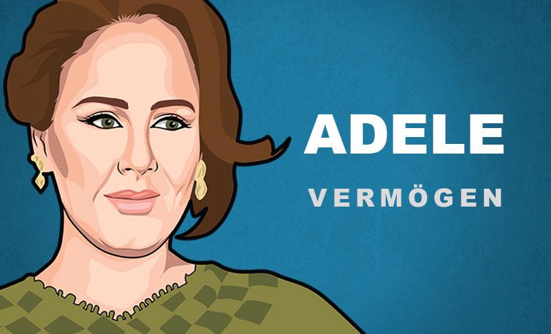 Adele Vermögen und Einkommen