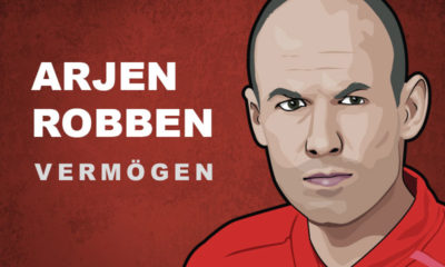 Arjen Robben Vermögen und Einkommen
