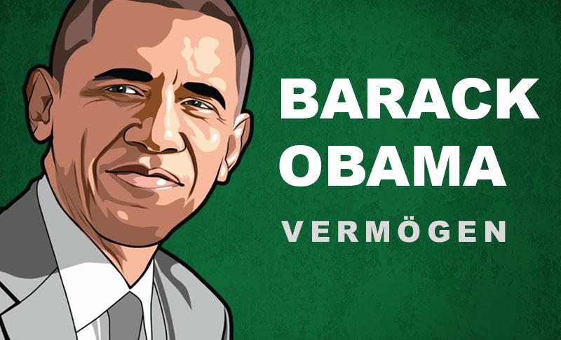 Barack Obama Vermögen und Einkommen