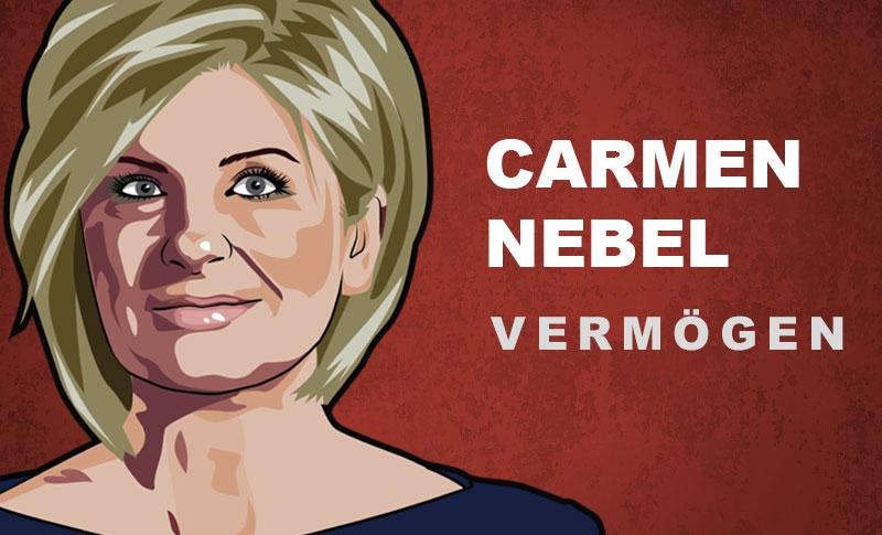 Carmen Nebel Vermögen und Einkommen