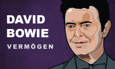 David Bowie Vermögen und Einkommen