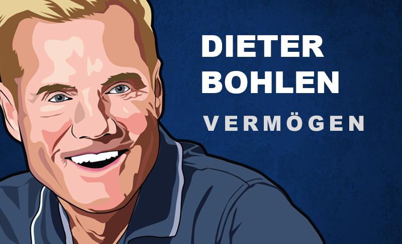 Dieter Bohlen Vermögen und Einkommen