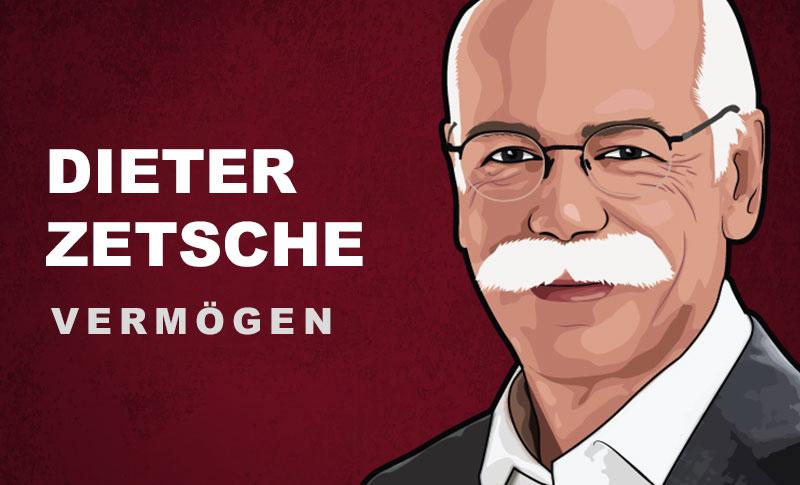 Dieter Zetsche Vermögen und Einkommen