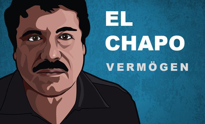 El Chapo Vermögen und Einkommen