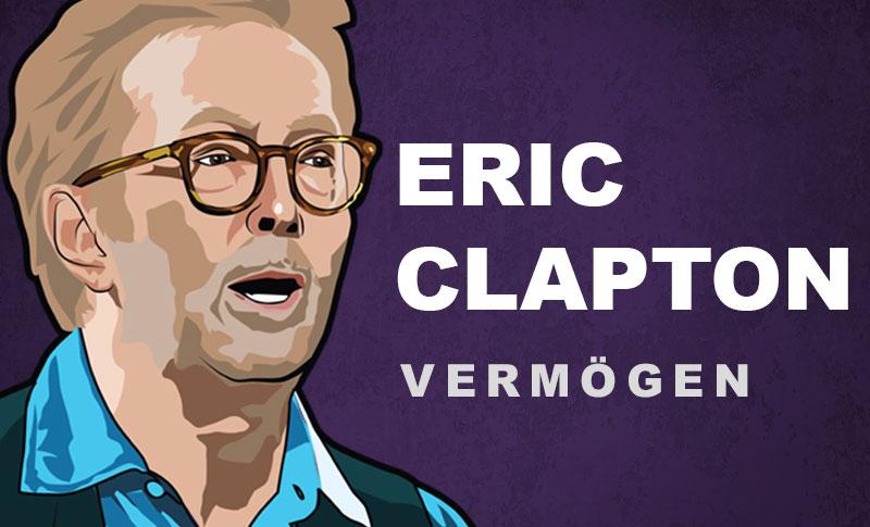 Eric Clapton Vermögen und Einkommen