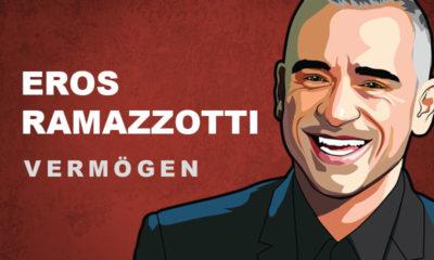 Eros Ramazzotti Vermögen und Einkommen