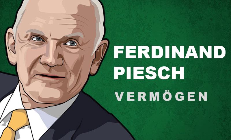 Ferdinand Piech Vermögen und Einkommen