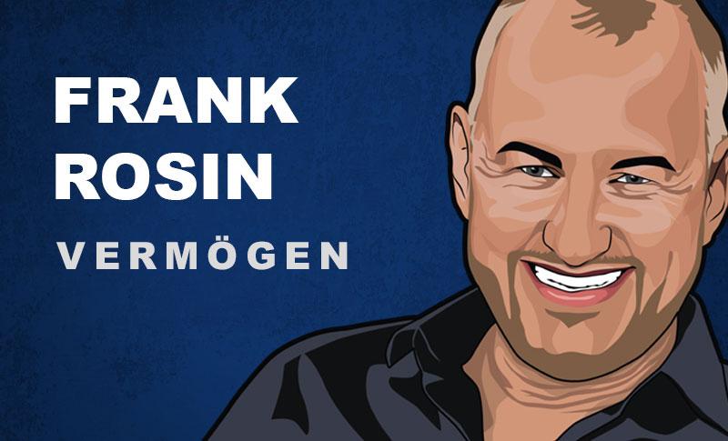 Frank Rosin Vermögen und Einkommen