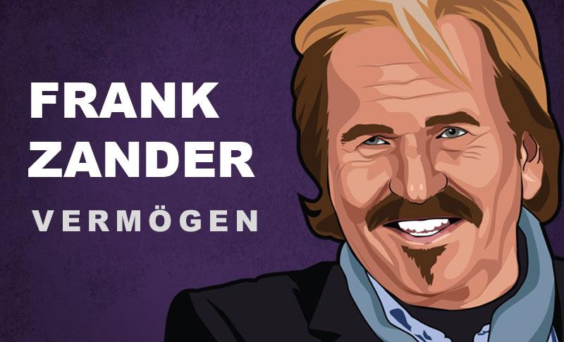 Frank Zander Vermögen und Einkommen