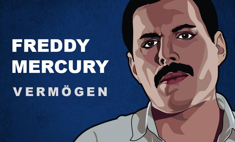 Freddy Mercury Vermögen und Einkommen