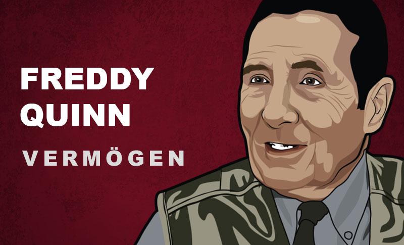 Freddy Quinn Vermögen und Einkommen