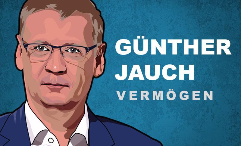 Günther Jauch Vermögen und Einkommen