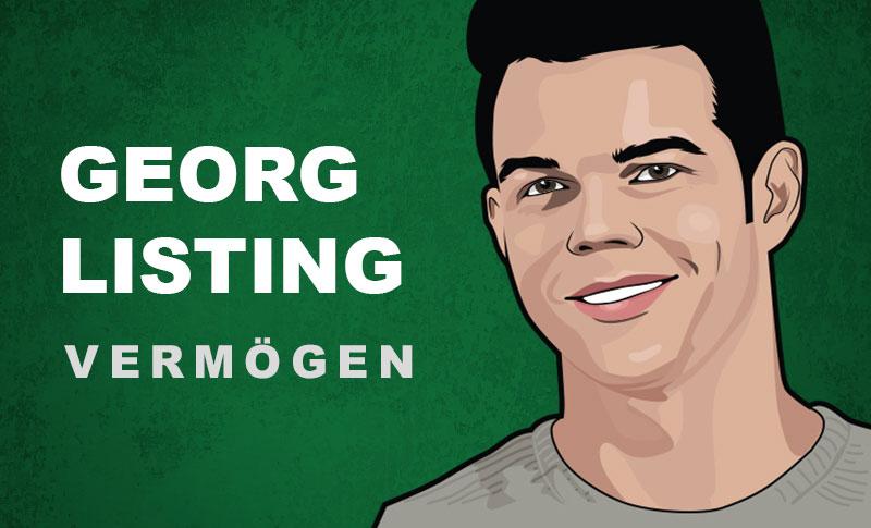 Georg Listing Vermögen und Einkommen