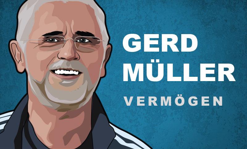 Gerd Müller Vermögen und Einkommen