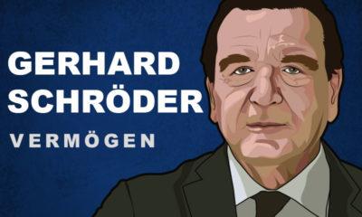Gerhard Schröder Vermögen und Einkommen