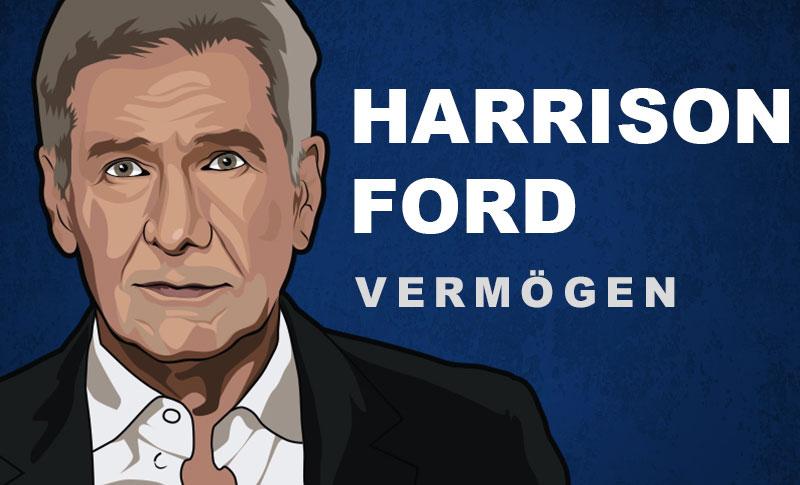 Harrison Ford Vermögen und Einkommen