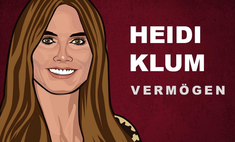 Heidi Klum Vermögen und Einkommen