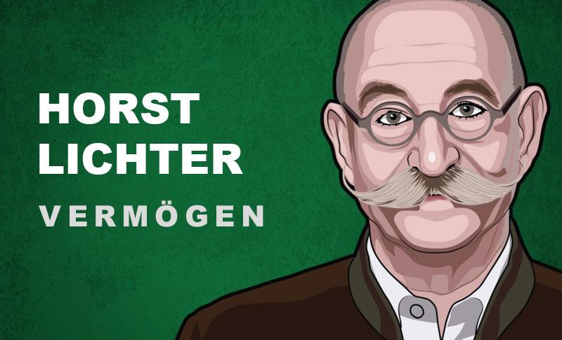 Horst Lichter Vermögen und Einkommen