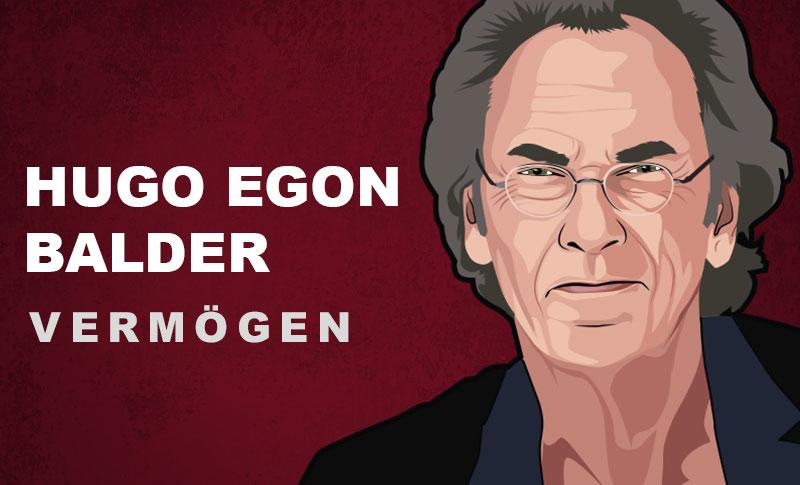 Hugo Egon Balder Vermögen und Einkommen