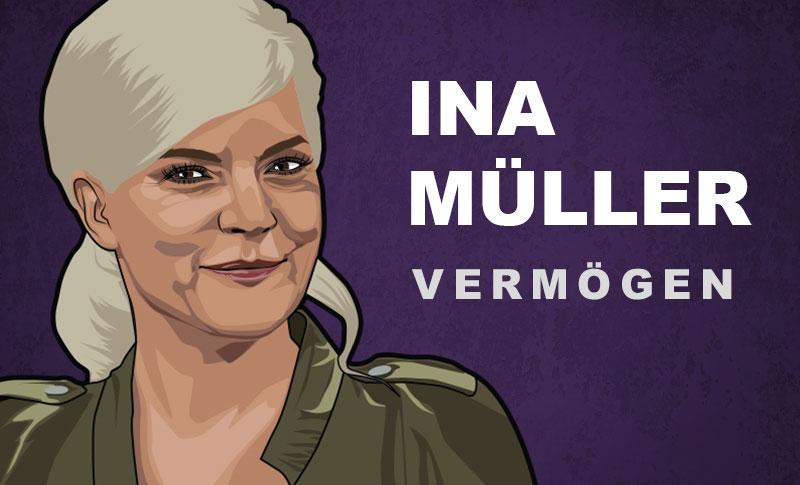 Ina Müller Vermögen und Einkommen