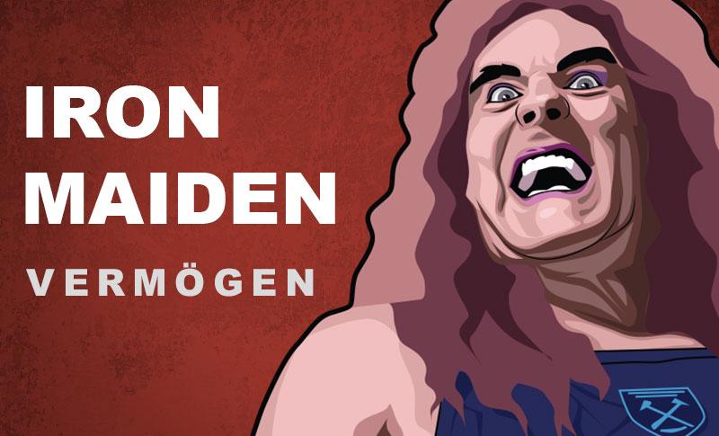 Iron Maiden Vermögen und Einkommen