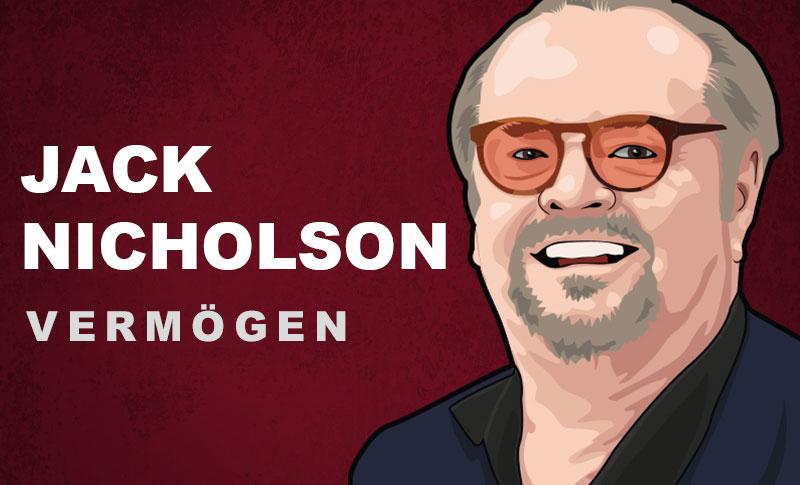 Jack Nicholson Vermögen und Einkommen