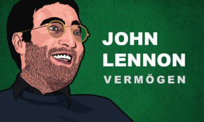 John Lennon Vermögen und Einkommen