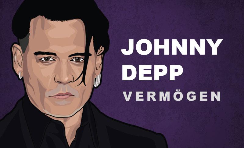 Johnny Depp Vermögen und Einkommen