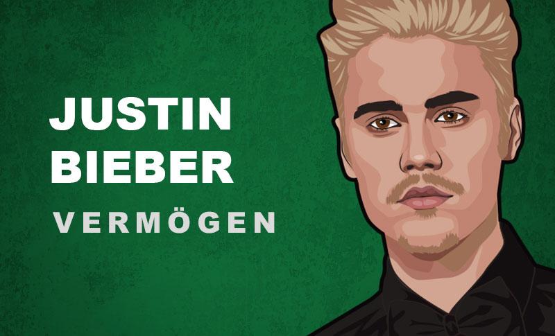 Justin Bieber Vermögen und Einkommen