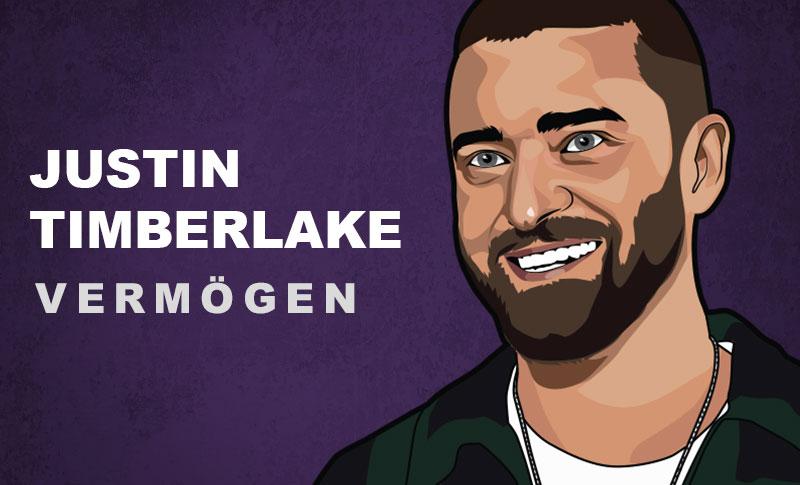 Justin Timberlake Vermögen und Einkommen