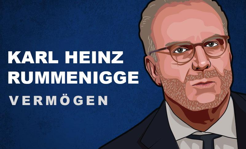 Karl Heinz Rummenigge Vermögen und Einkommen