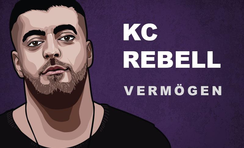 KC Rebell Vermögen und Einkommen