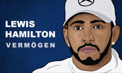 Lewis Hamilton Vermögen und Einkommen