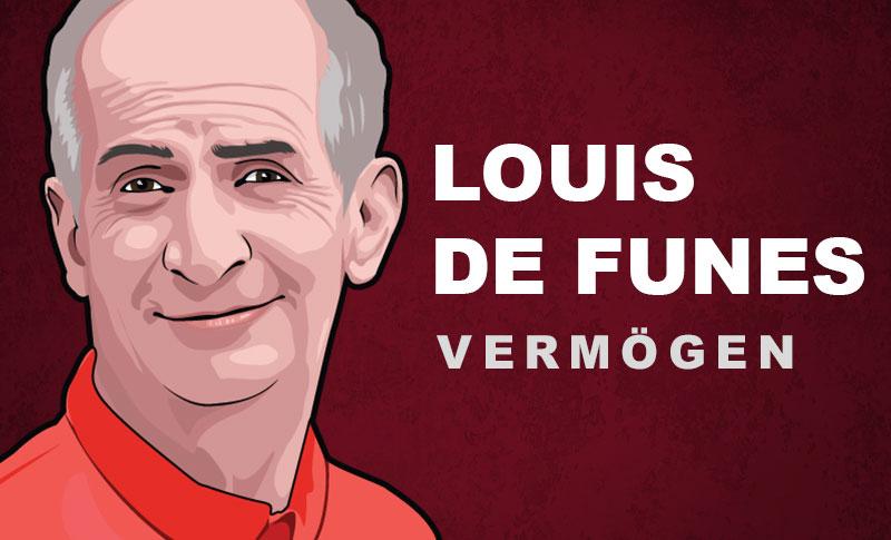 Louis de Funès Vermögen und Einkommen