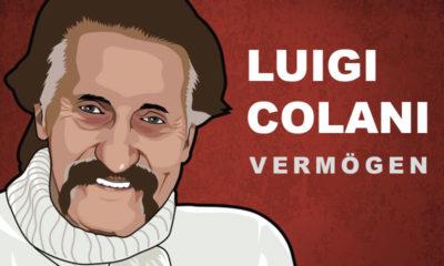 Luigi Colani Vermögen und Einkommen