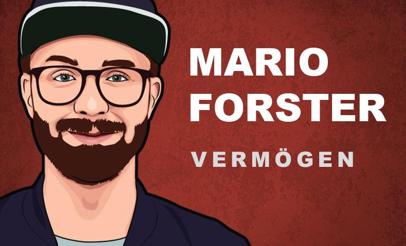 Mark Forster Vermögen und Einkommen