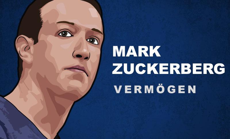 Mark Zuckerberg Vermögen und Einkommen
