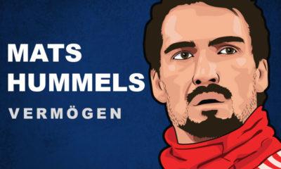 Mats Hummels Vermögen und Einkommen