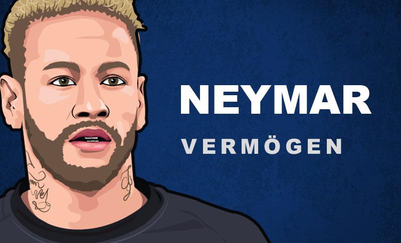 Neymar Vermögen und Einkommen