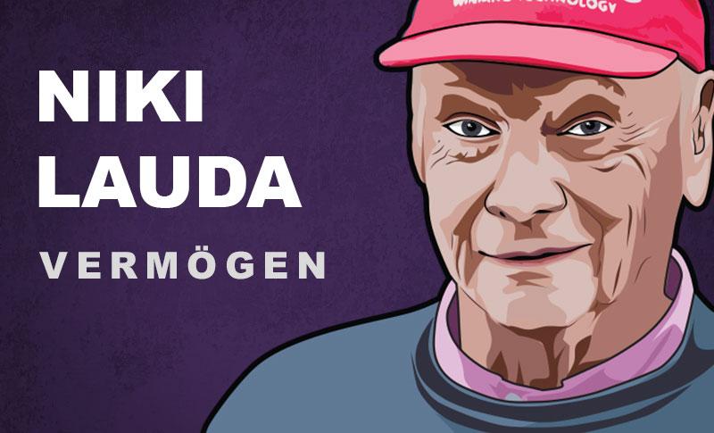 Niki Lauda Vermögen und Einkommen