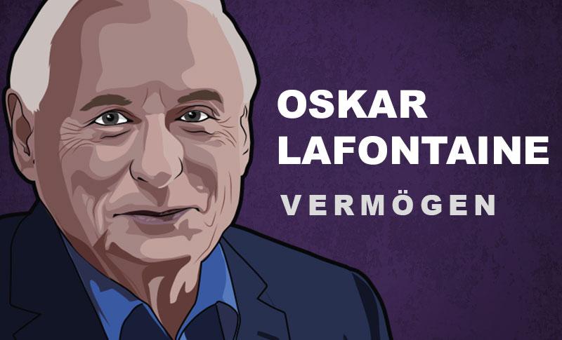 Oskar Lafontaine Vermögen und Einkommen