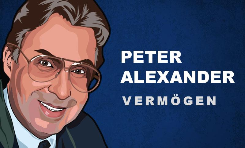 Peter Alexander Vermögen und Einkommen