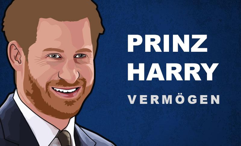 Prinz Harry Vermögen
