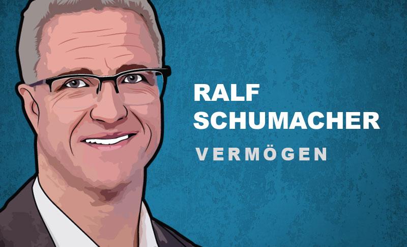 Ralf Schumacher Vermögen und Einkommen
