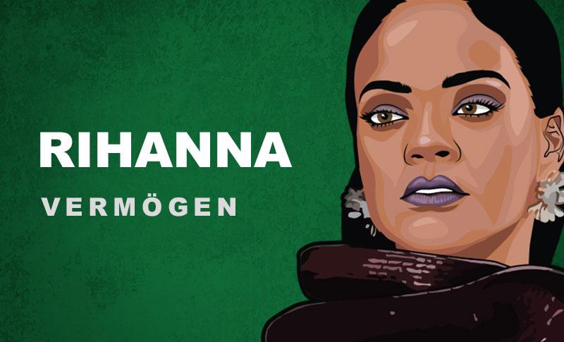 Rihanna Vermögen und Einkommen