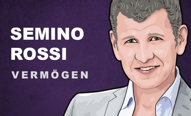 Semino Rossi Vermögen und Einkommen