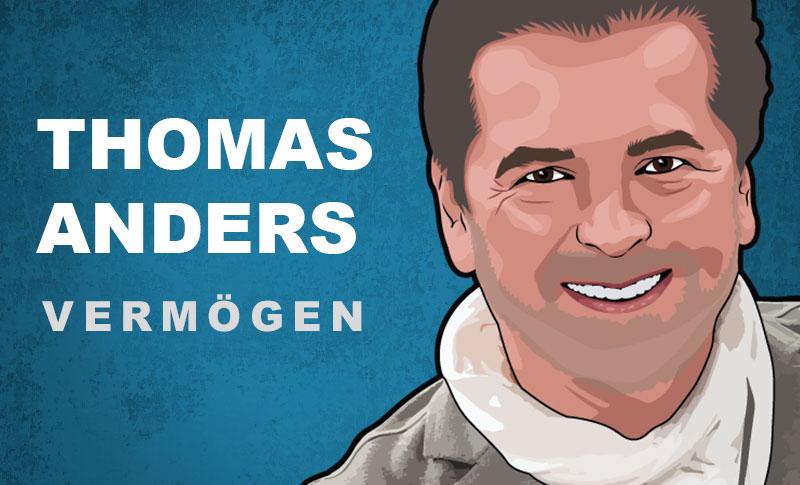 Thomas Anders Vermögen und Einkommen