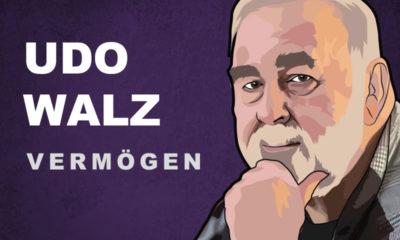 Udo Walz Vermögen und Einkommen